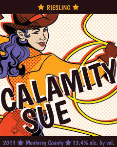 Calamity Sue label