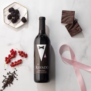 Rayado Cabernet Sauvignon Charity Wine Living Beyond Breast Cancer