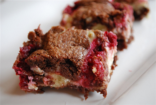 Raspberry Brownies