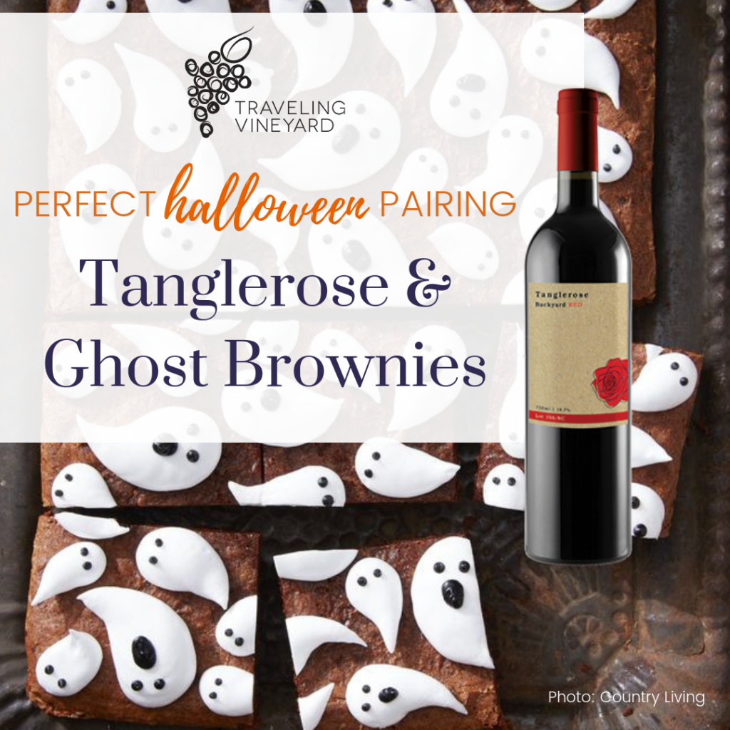 tanglerose and ghost brownies pairing
