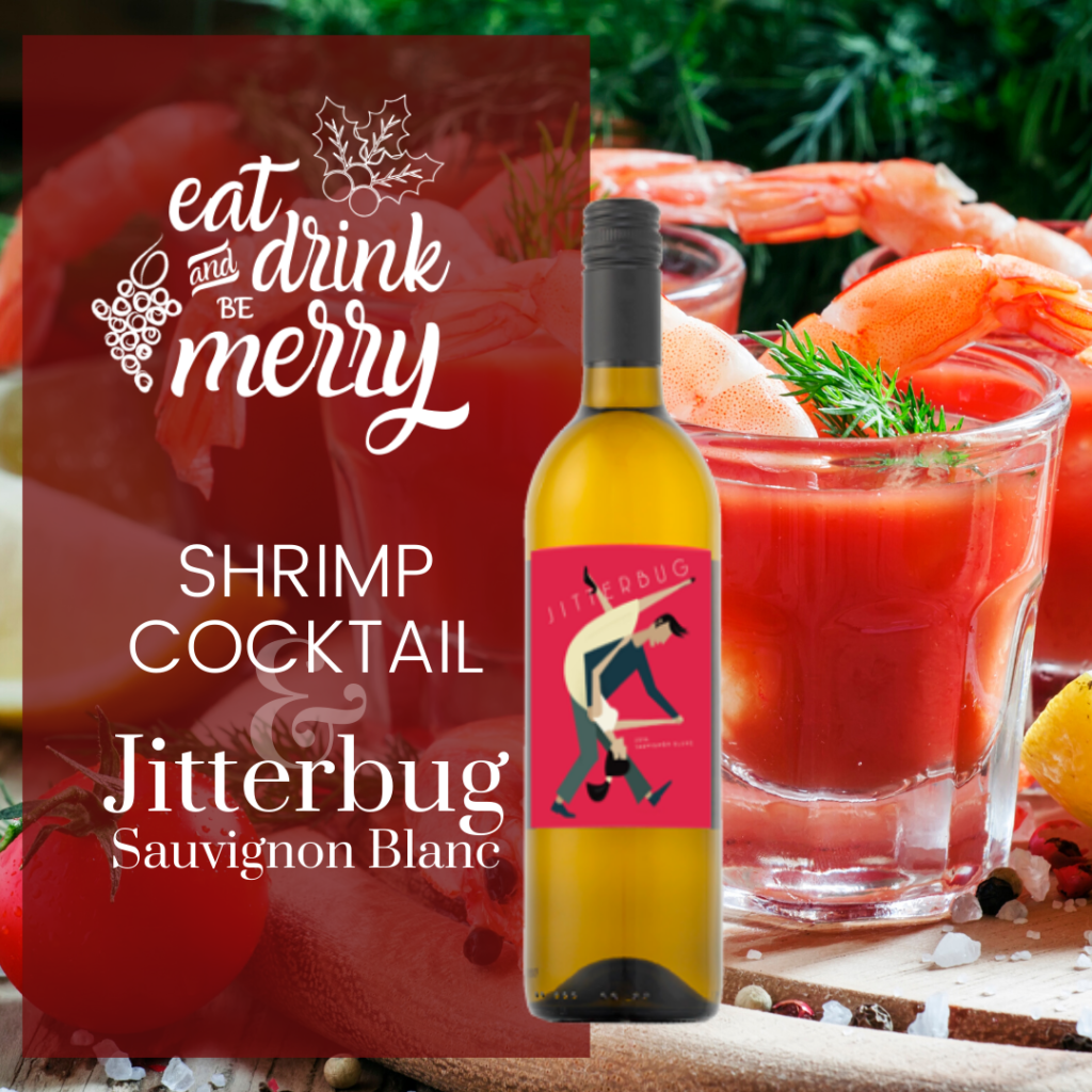 shrimp cocktail holiday dinner pairings