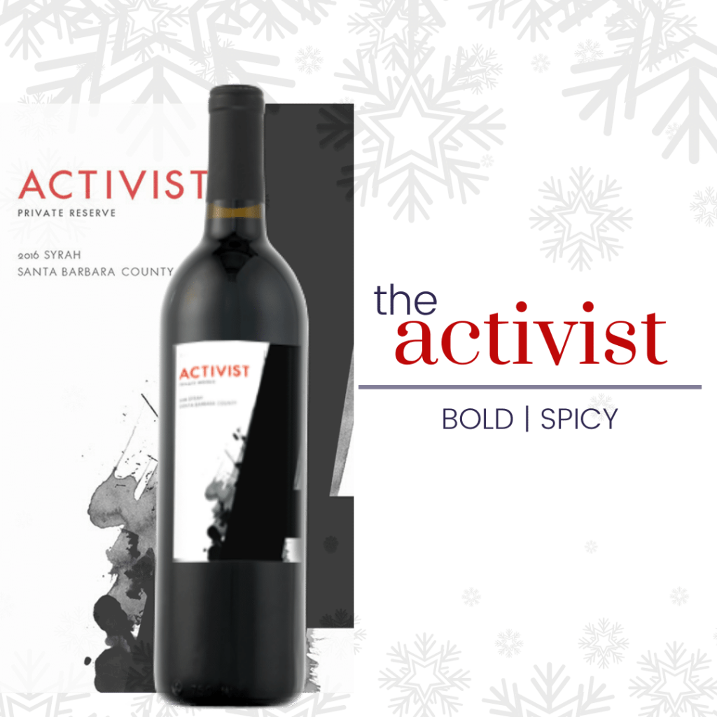 activist Syrah for the activist