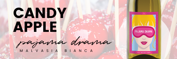 candy apple with pajama dram