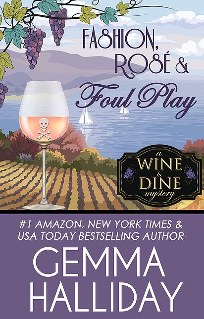 Cover of Fashion, Rosé and Foul Play by Gemma Halliday
